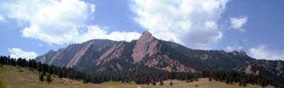Flatirons over Boulder, Colorado