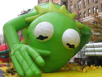 Kermit the Frog Float