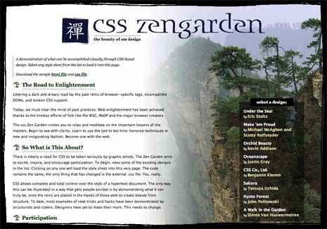 Bonsai Sky - CSS Zen Garden