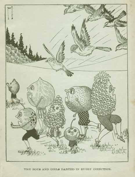 T. Benjamin Faucett, Folksy Fruits, 1924