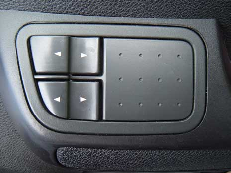 Car window controls