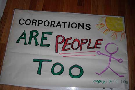 Corporations are people too