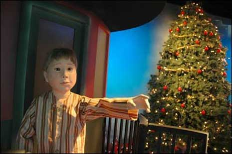 Boy in The Polar Express