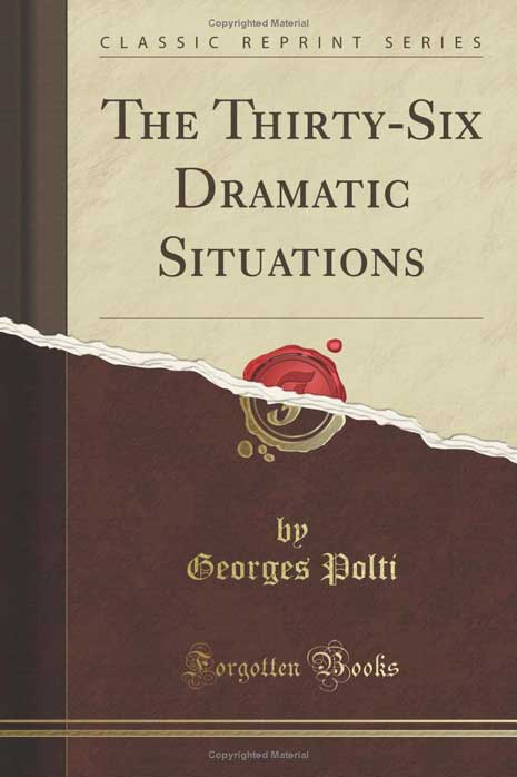 36 Dramatic Situations book cover