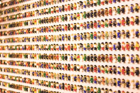Community of lego people
