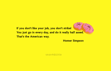 Homer Simpson on ethics