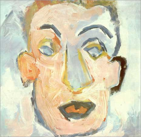 Self portrait of Bob Dylan