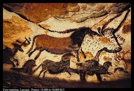 Cave painting Lascaux, France