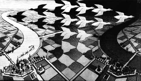 MC-Escher's Day and Night