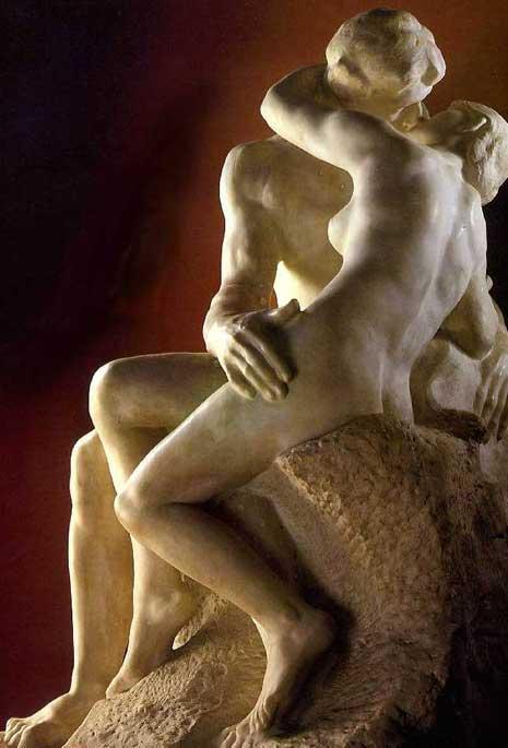 Rodin's The Kiss