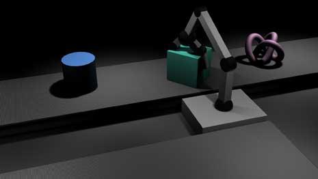 Assembly line robot