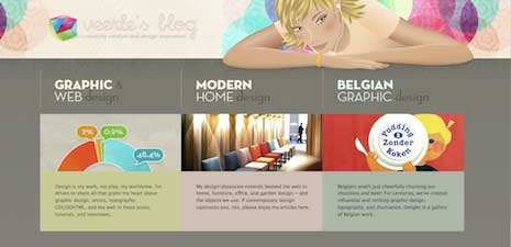 Veerle Pieters home page