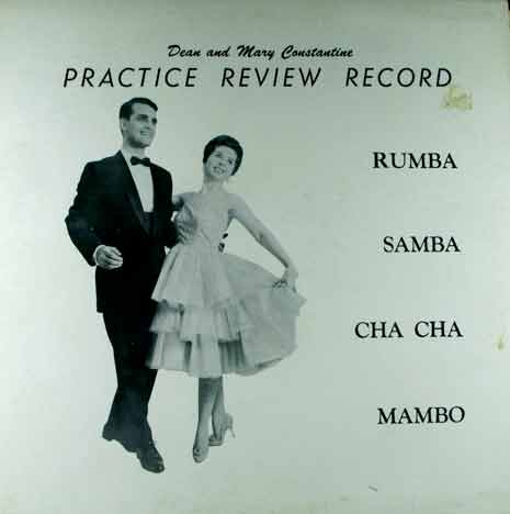 Cover of practice review record dance album