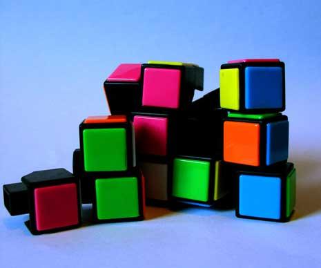 Broken Rubik's Cube
