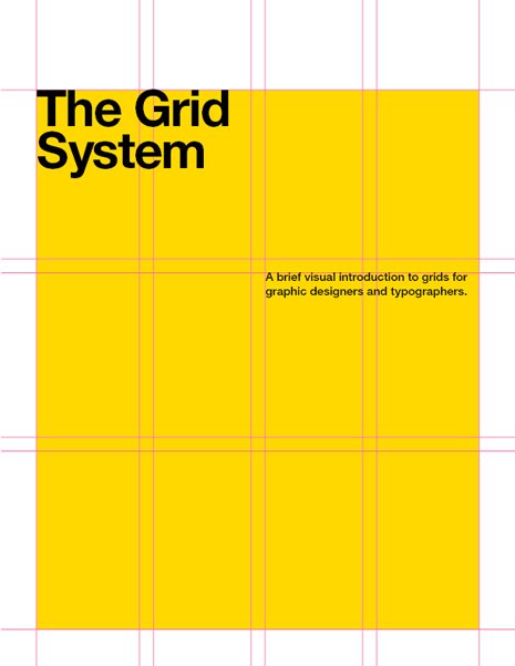 The Grid System book cover with overlaid grid