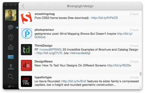 Tweets from my Twitter list of designers