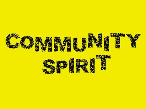 Community spirit