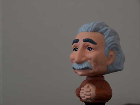 Model of Albert Einstein