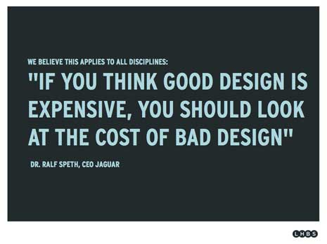 Good design vs bad design