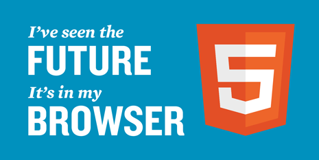 I've seen the future. It's in my browser. HTML5