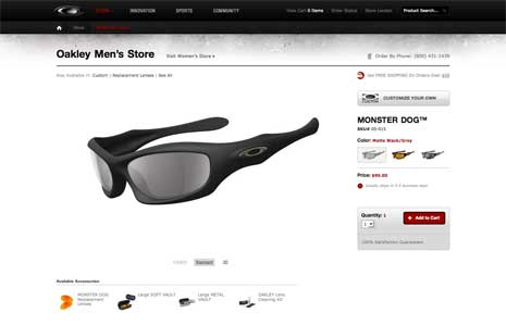 Oakley's Shaun White Signature Series polarized sunglasses