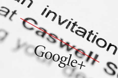 Closeup of an invitation