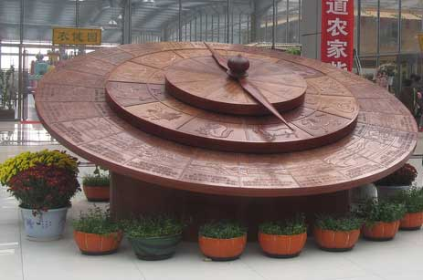 Chinese Farm & 24 Season Clock