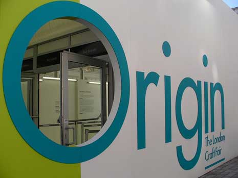 Sign for Origin: the London Craft Fair
