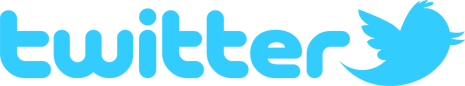 Twitter logo in blue
