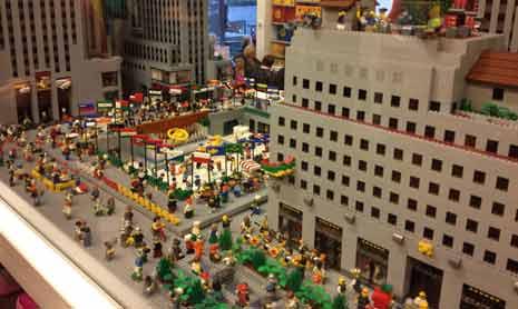 Lego skating rink