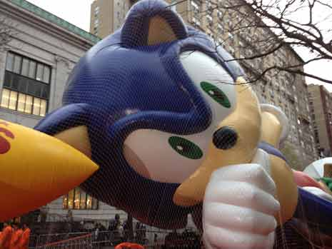 Sonic the Hedgehog float