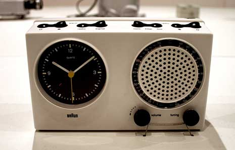 Brain radio by Dieter Rams