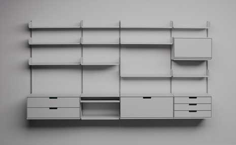 606 Universal Shelving System by Dieter Rams