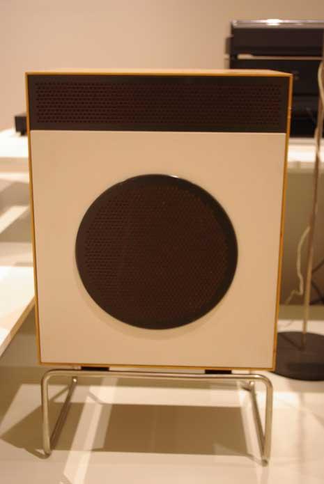Braun L2 speaker by Dieter Rams