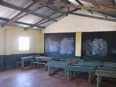 Classroom, Village 2, Solio Settlement, C. Kenya