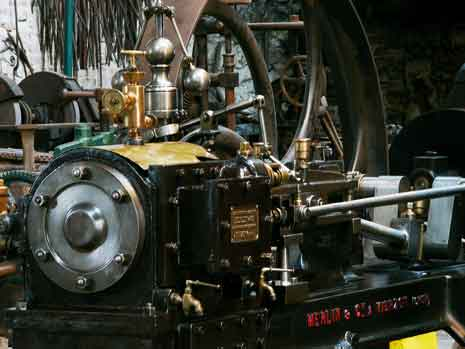 Steam engine: Merlin Centre of Social History