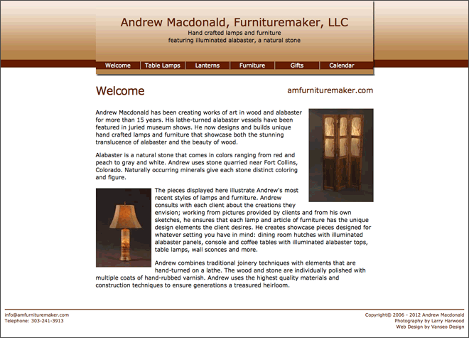 Andrew Macdonald, Furnituremaker, LLC