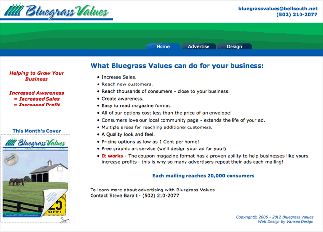 Bluegrass Values