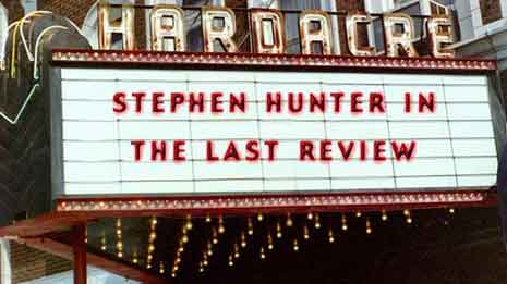 Movie theater marquee for The Last Review
