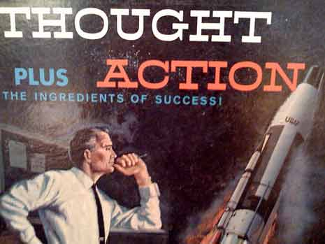 Thought plus action: The ingredients of success
