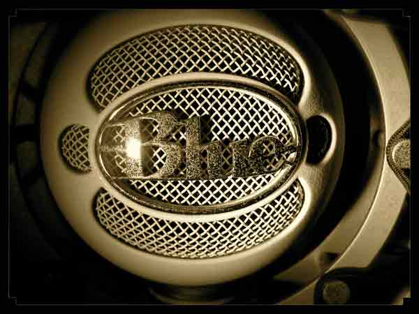 Blue's Snowball microphone