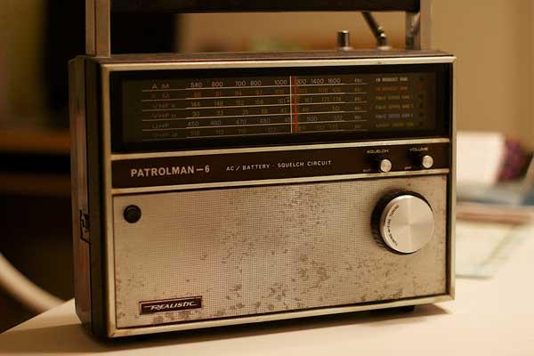 1970s portable radio