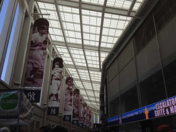 Yankee Stadium Hall of Heroes