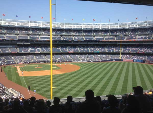 Field at Yankee Stadium