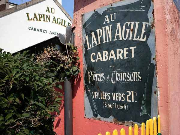 Lapin Agile in Montmartre