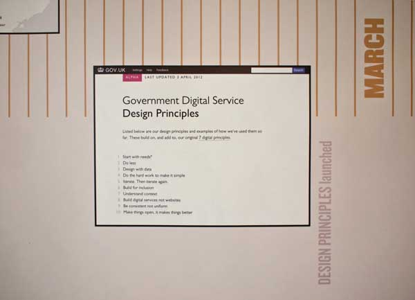 Design principles for UK Government Digital Service