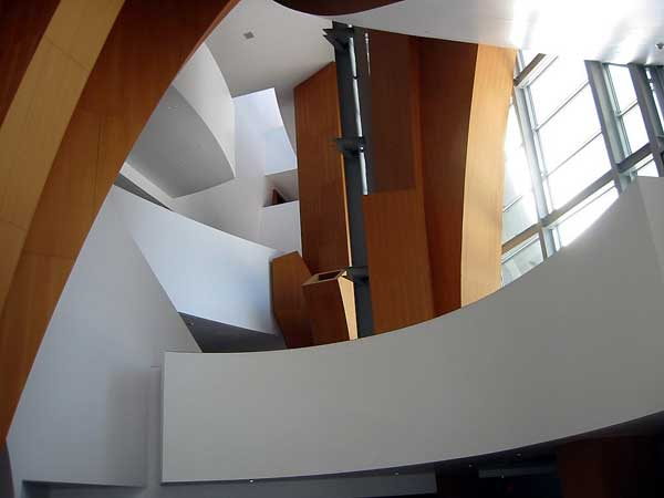 Disney Hall Atrium