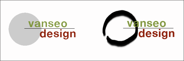 2 logos: circle theme and enso theme