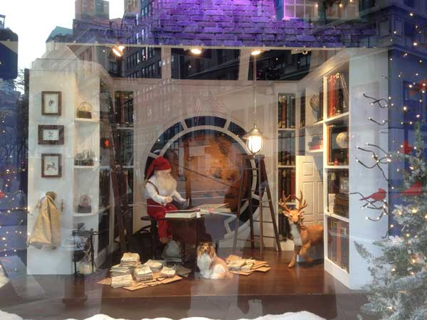 Lord and Taylor window display