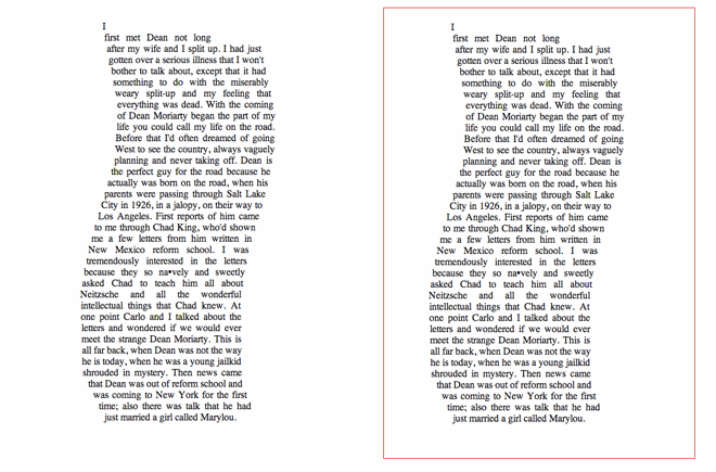 Text polygon created with shape-inside